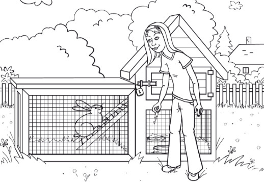 Susie - Coloring pages